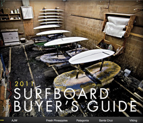 Surfer Magazine Surfboard Buyer's Guide